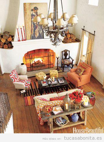 Decoración de casa con los colores de otoño 2015