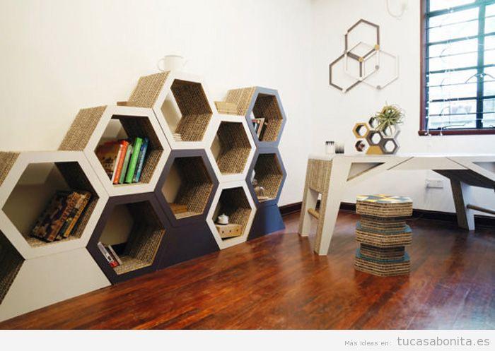 Estanterías y librerías con formas originales
