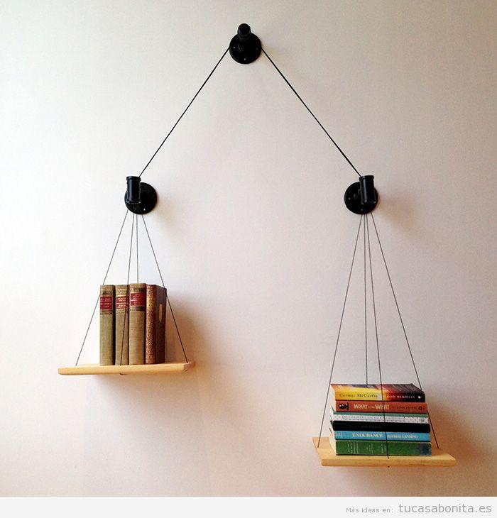 Estanterías y librerías con formas originales 2