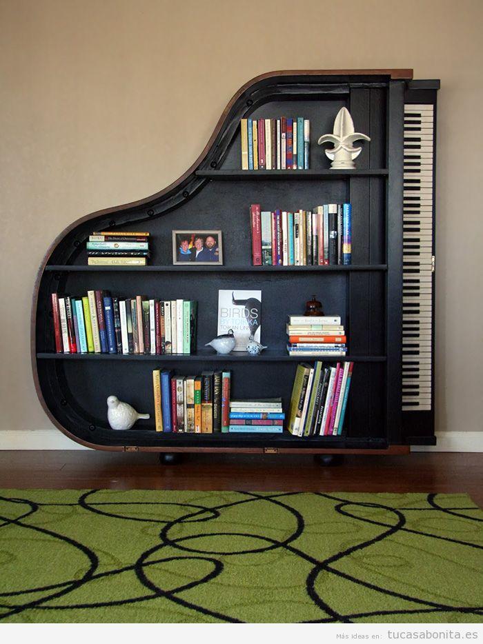 Estanterías y librerías con formas originales 5