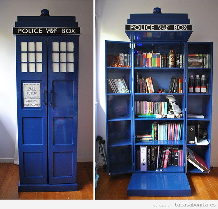 Estanterías y librerías con formas originales 6