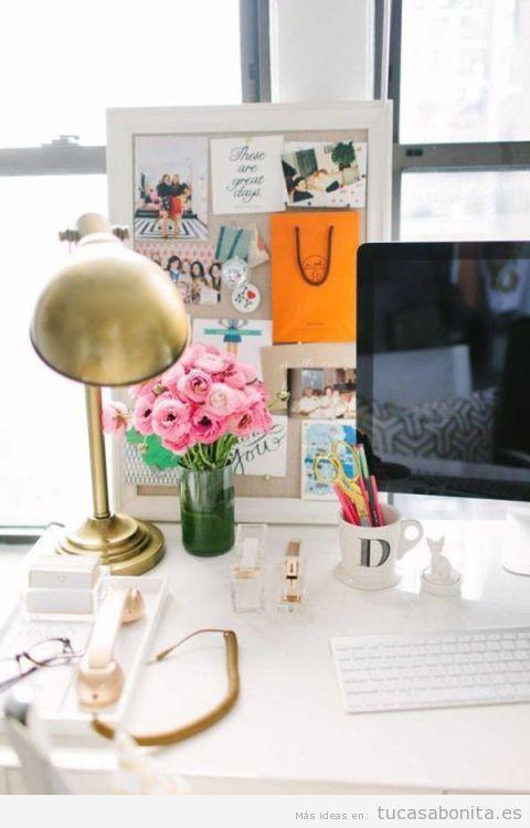 10 ideas inspiradoras para decorar una oficina en casa muy for Cuadros para decorar mi oficina