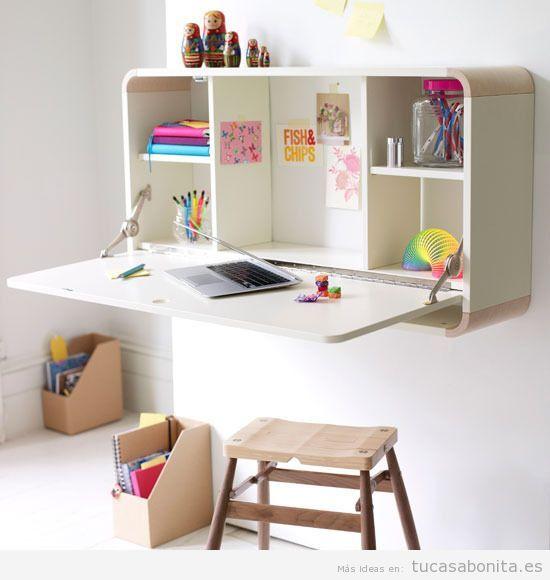 Ideas decoración y muebles habitación infantil pequeña 9