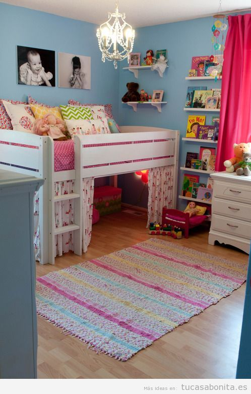 Dormitorio infantil tu casa bonita ideas para decorar - Ideas decorar habitacion infantil ...