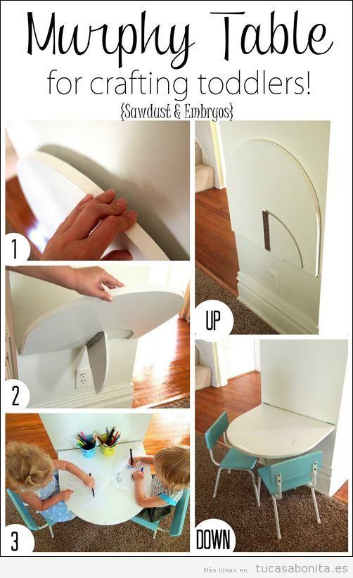 Ideas decoración y muebles habitación infantil pequeña 6
