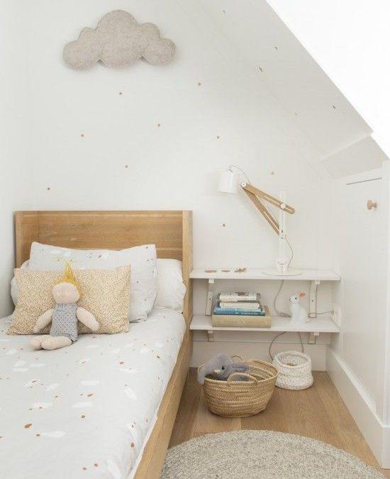 Cómo amueblar y decorar un dormitorio infantil pequeño