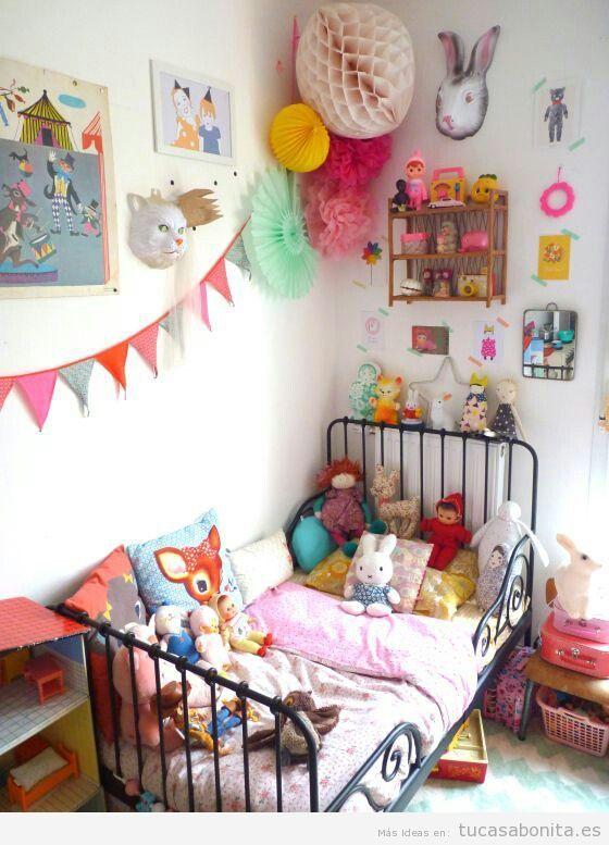 Ideas decoración dormitorios infantiles 6