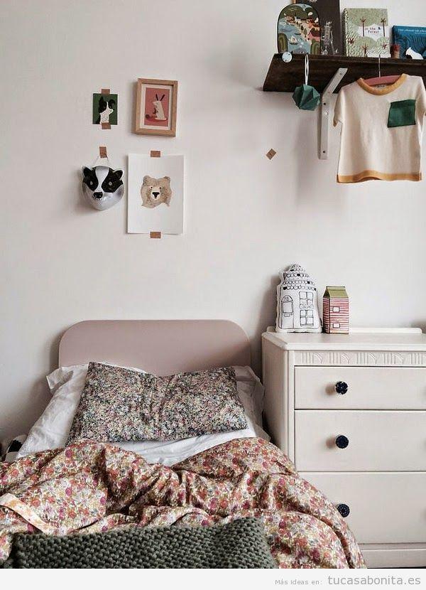 Ideas decoración dormitorios infantiles 8
