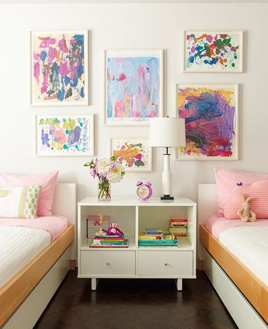 Ideas para decorar dormitorios infantiles individuales y dobles