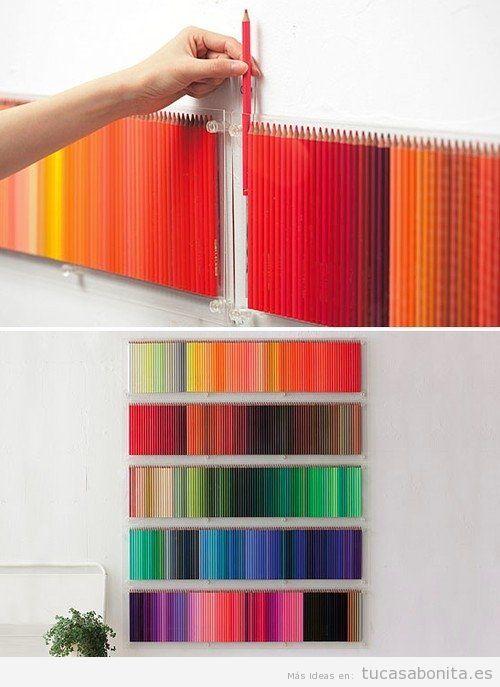 Ideas DIY y manualidades para pintar y decorar paredes Tu casa Bonita