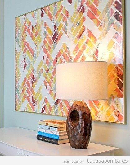 Ideas para decorar pared con cuadros DIY 3