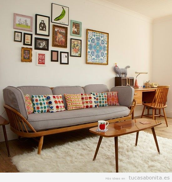 Decoracion salas estilo vintage for Ideas decoracion vintage