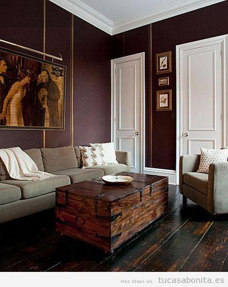 Ideas de decoración sala de estar estilo vintage 11