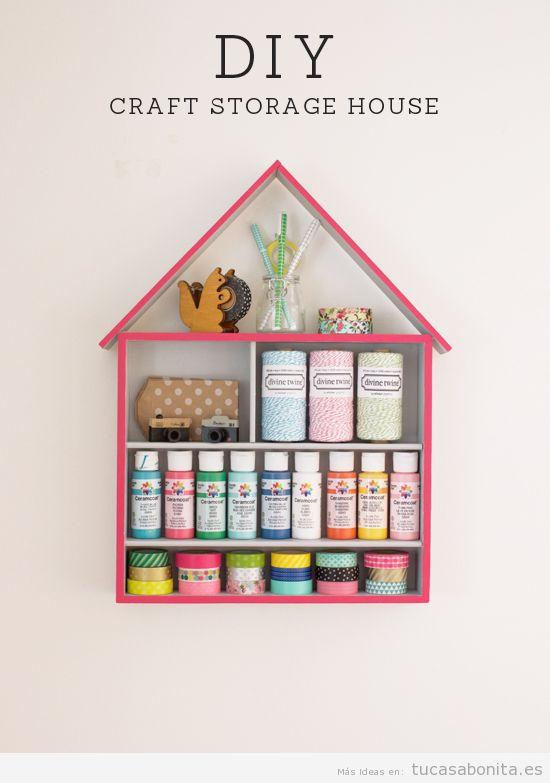 Ideas DIY para organizar y ordenar tu casa 6