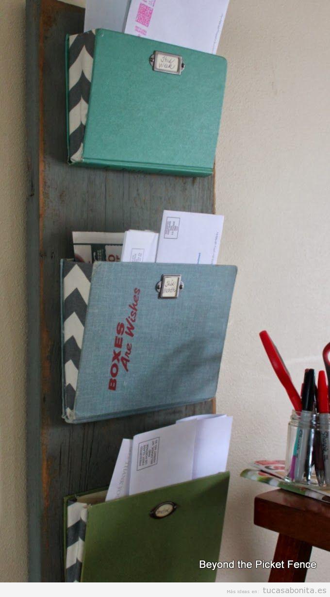 Manualidades para decorar organizar y ordenar tu casa for Ideas para decorar tu departamento