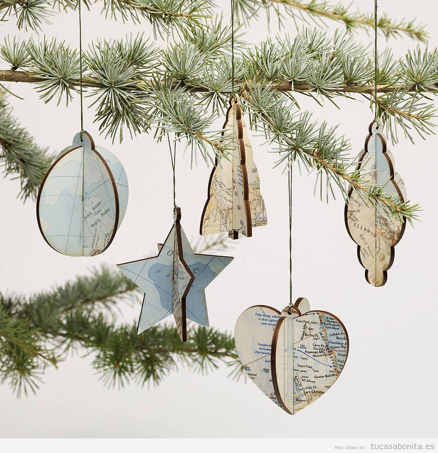 Adornos para decorar tu casa en navidad con un estilo for Adornos navidenos para regalar