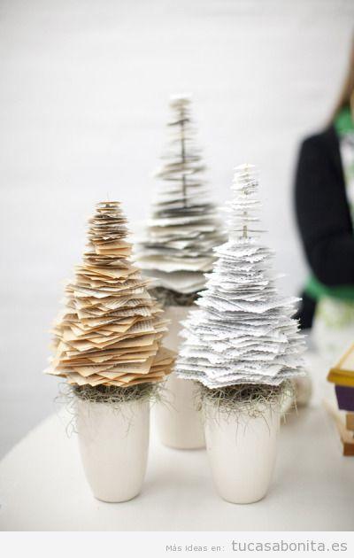 Adornos para decorar casa en Navidad estilo vintage 11