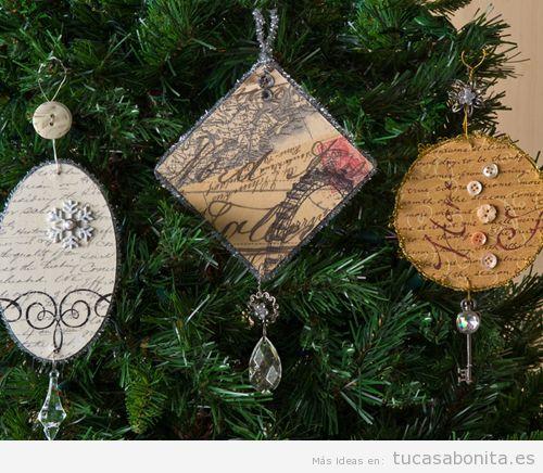 Adornos Navidad vintage 9