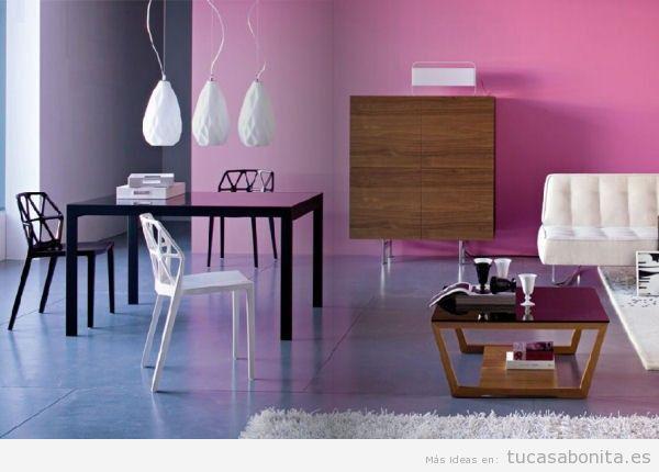 Paredes de salas de estar pintadas de colores 8
