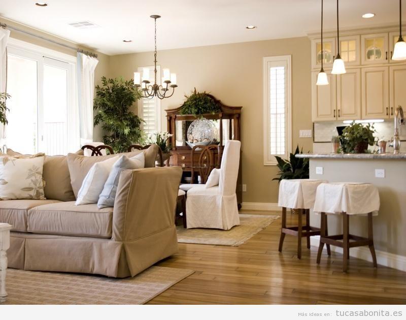Distintos colores para pintar tu sala de estar y darle un toque ...