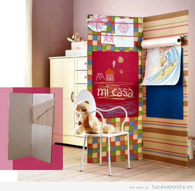 10 manualidades para decorar dormitorios infantiles