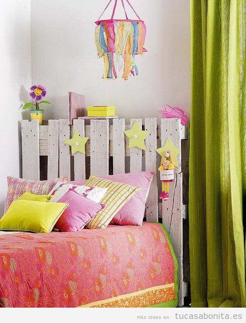 Manualidades y DIY para decorar dormitorio infantil