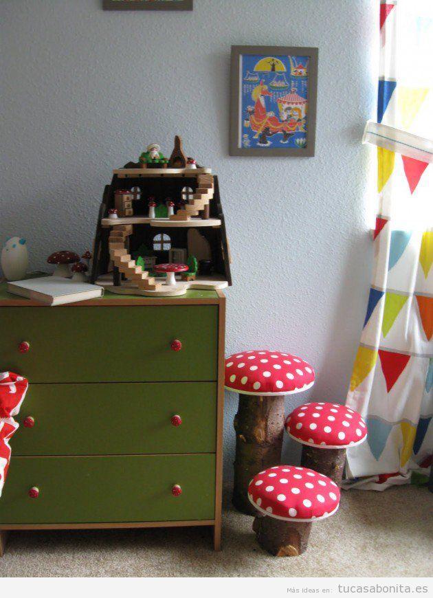 10 manualidades para decorar dormitorios infantiles tu for Adornos originales para decorar casa