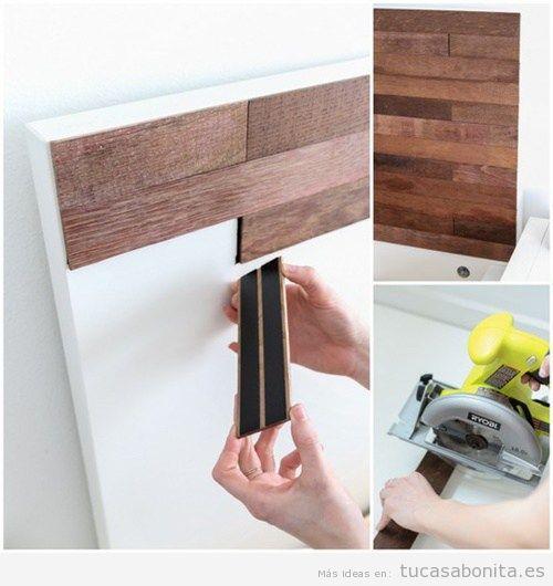 Decoraci n en tu habitaci n con l minas de madera for Laminas adhesivas pared