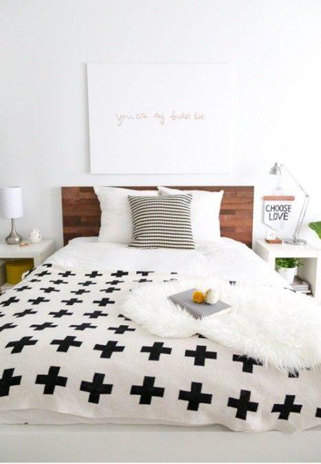 Decoración en tu habitación con láminas de madera: ¿Te renovar tu cama de ikea?