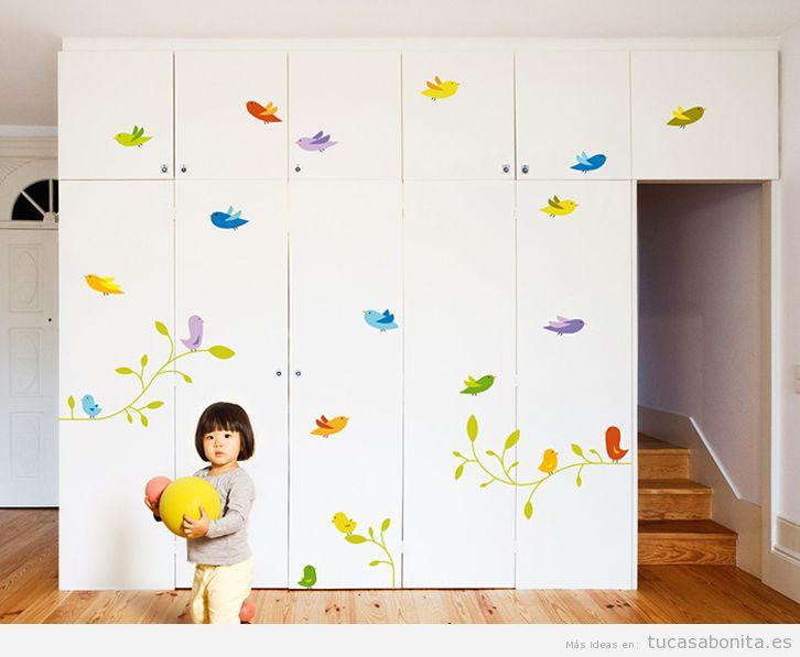 Decoración infantil: ¿Cómo podemos decorar la habitación de nuestros hijos?