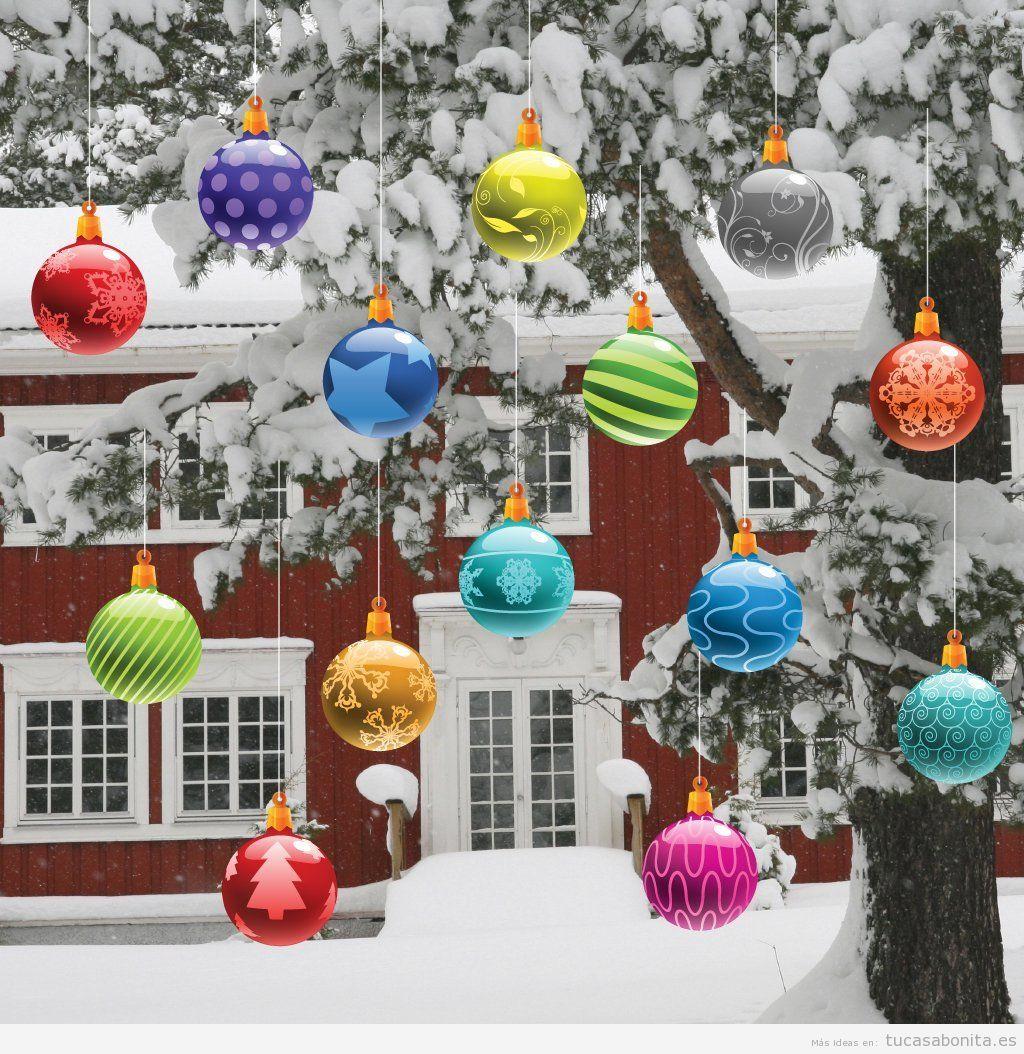 Decorar casa exterior navidad for Ideas para decorar una casa moderna