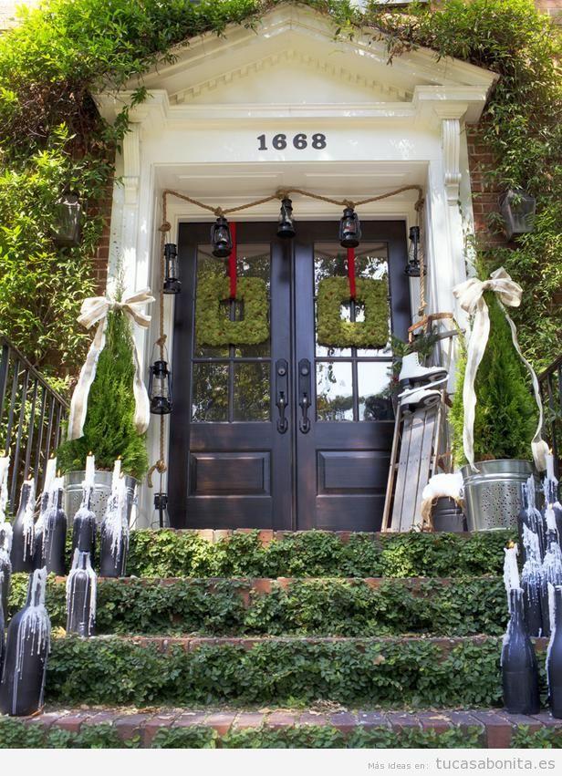 Ideas para decorar el exterior de tu casa en Navidad 10