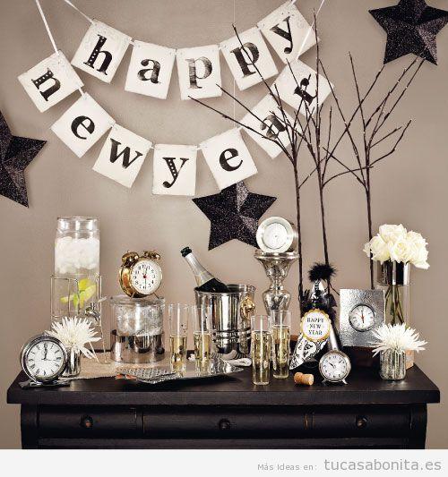 Decoracion mesa a o nuevo 2016 - Decoracion mesa nochevieja ...
