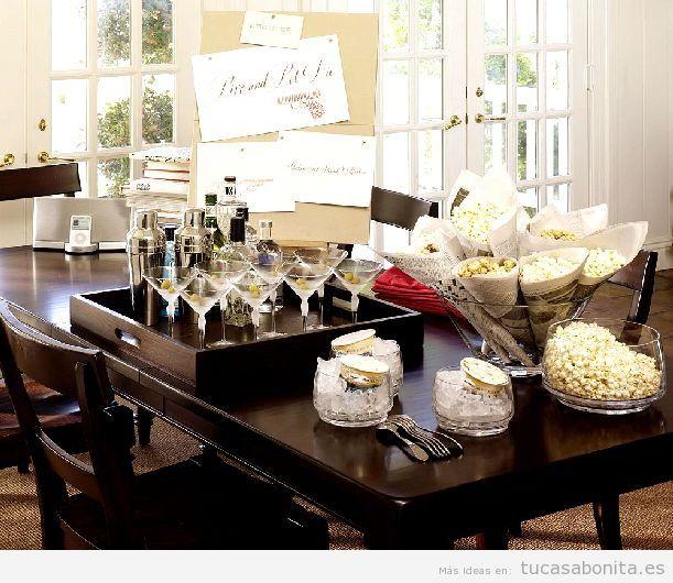 Decoración de mesa y salón para Nochevieja 4