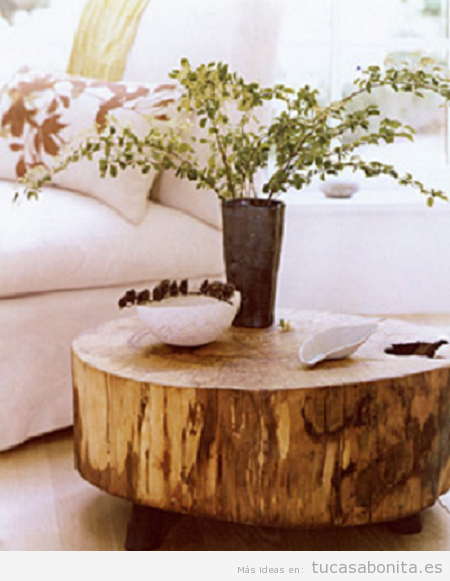 Mesas de madera estilo vintage DIY 3