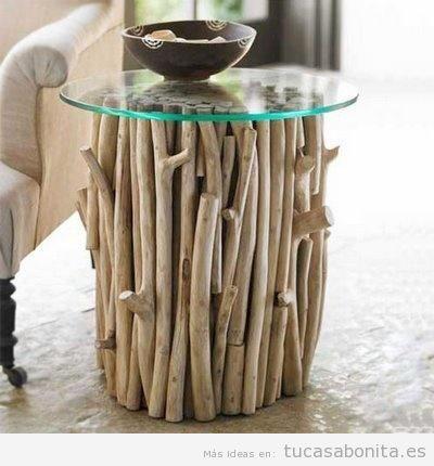 Mesas de madera estilo vintage DIY 4