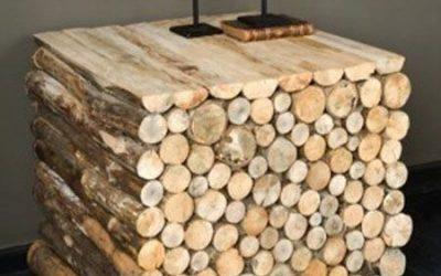 Ideas para hacer mesas con madera DIY