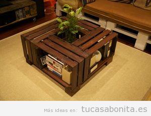 Ideas Para Hacer Mesas Con Madera Diy Tu Casa Bonita