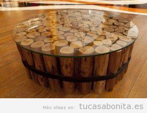 Mesas de madera estilo vintage DIY 7
