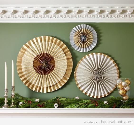 Ideas para decorar tu casa en navidad de forma sencilla y - Manualidades para decorar la casa ...