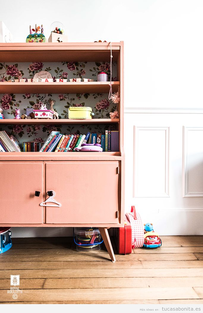 Dormitorios infantiles con un estilo vintage para tus hijos