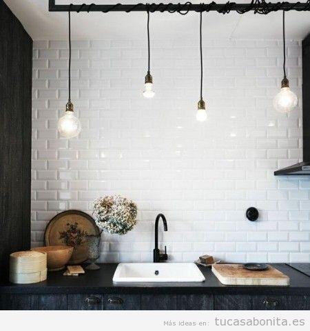 5 cocinas con una decoración muy chic y baratas de decorar