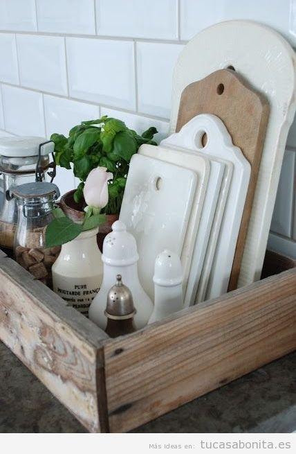 ideas de decoracin barata y chic para la cocina