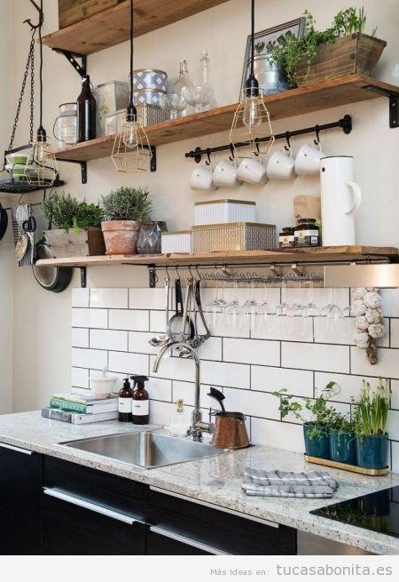 Ideas de decoración barata y chic para la cocina 3