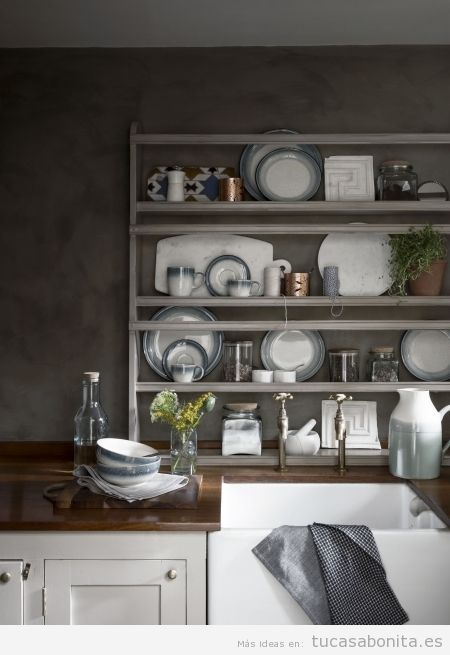 5 cocinas con una decoraci n muy chic y baratas de decorar for Decoracion muy barata
