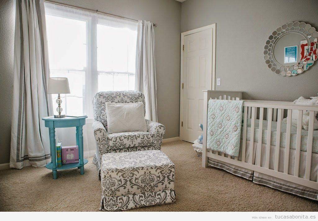Dormitorios Infantiles Y Para Bebes Decorado Estilo Provenzal Tu - Decoracin-dormitorio-bebe