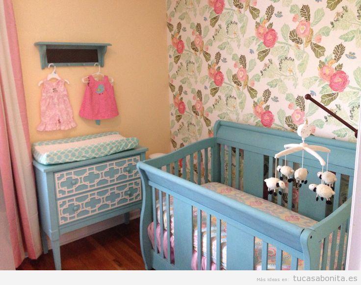 Decorar dormitorio infantil estilo francés provenzal 2