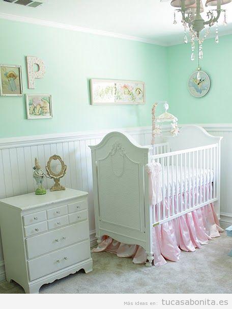 Dormitorios infantiles y para bebés decorado estilo provenzal