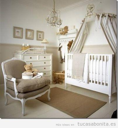 Decorar dormitorio infantil estilo francés provenzal 6