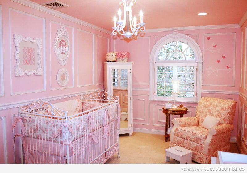 Decorar dormitorio infantil estilo francés provenzal 4
